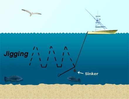 sea angling hookline